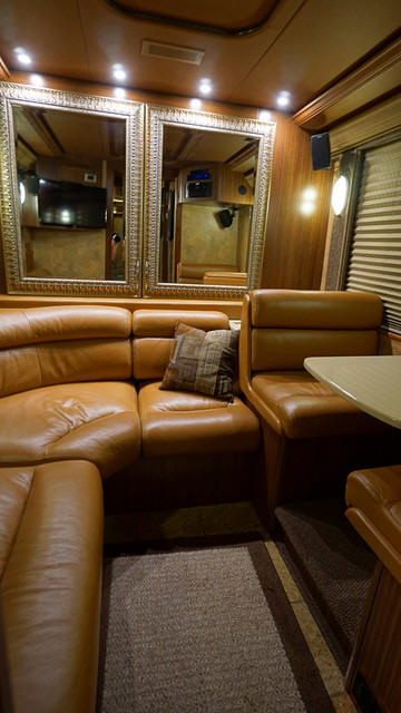 2009 Prevost XLII Entertainer Bus # 49396 For Sale at Staley Bus Sales, Nashville, Tennessee.