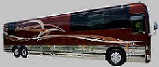 2009 prevost entertainer bus spike
