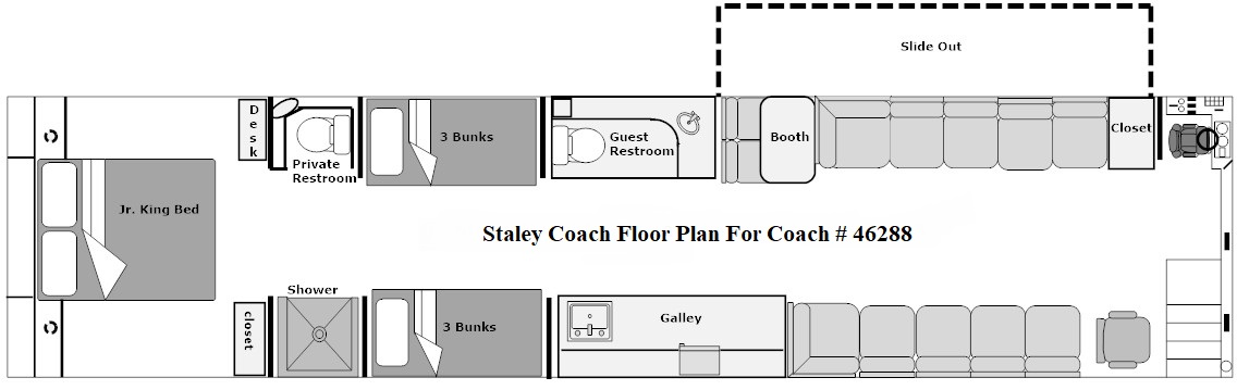 floor plan for coach 46288