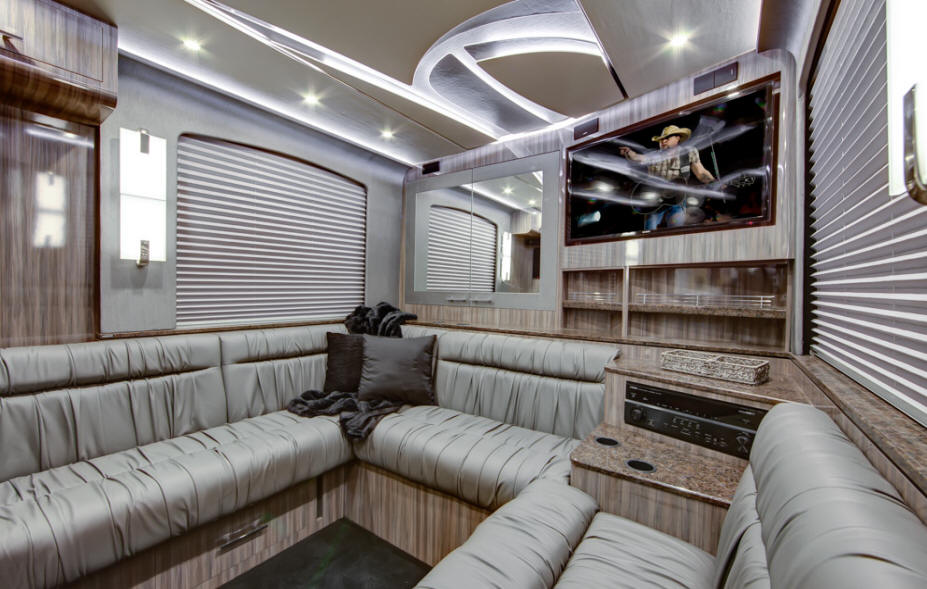 rear lounge bus for sale