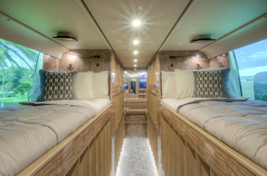 2018 X3-45 Prevost Entertainer Bus # 46204 For Sale at Staley Bus Sales, Nashville, Tennessee.