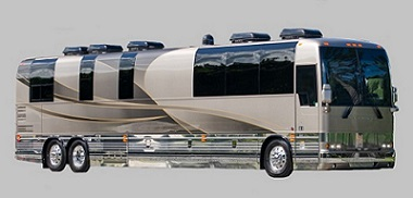 2018 Florida Coach X3-45 single slide Entertainer Bus For Sale by Staley Coach, Nashville, Tennessee.