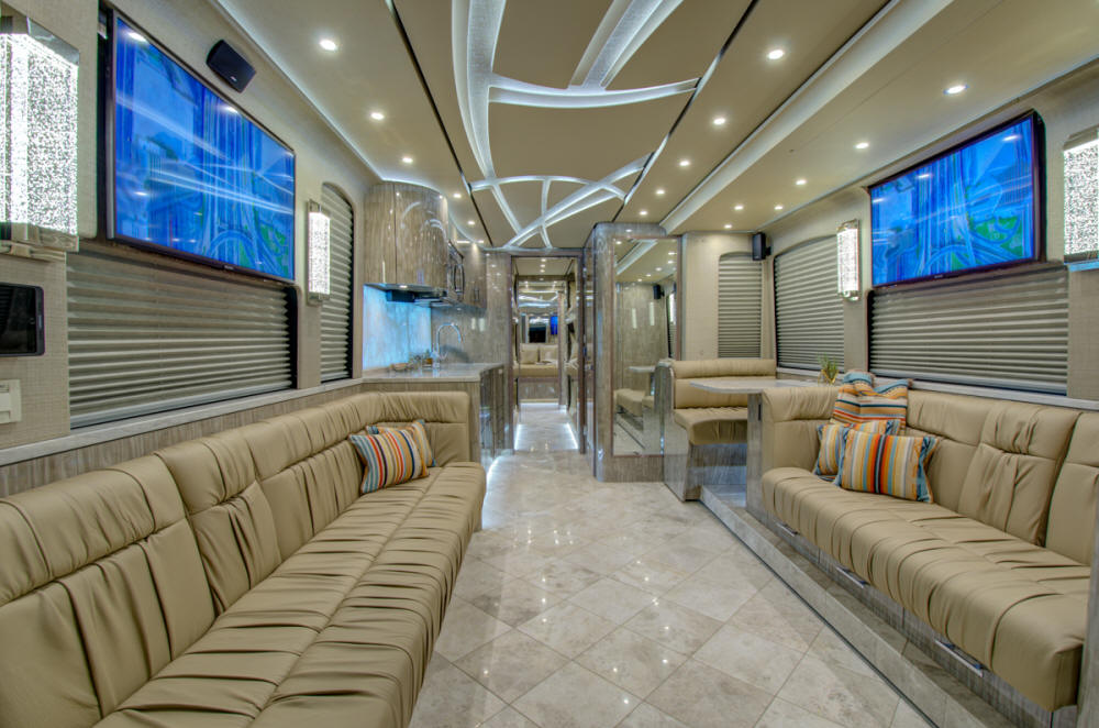 2019 X3-45 Prevost Star Coach # 46288 For Sale at Staley Coach, Nashville, Tennessee.