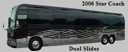 2006 Prevost XLII Star Bus / Motorhome #49243 For Sale at Staley Bus Sales in Nashville, Tennessee.