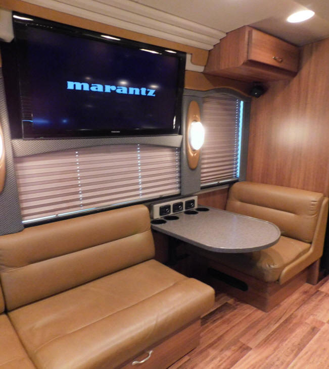 2004 Prevost XLII Entertainer Bus # 49236 For Sale at Staley Bus Sales in Nashville, Tennessee.
