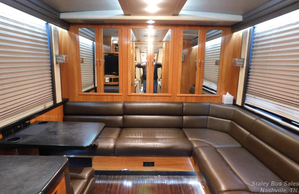 2000 Prevost XLII Entertainer Bus # 49242 For Sale at Staley Bus Sales in Nashville, Tennessee.