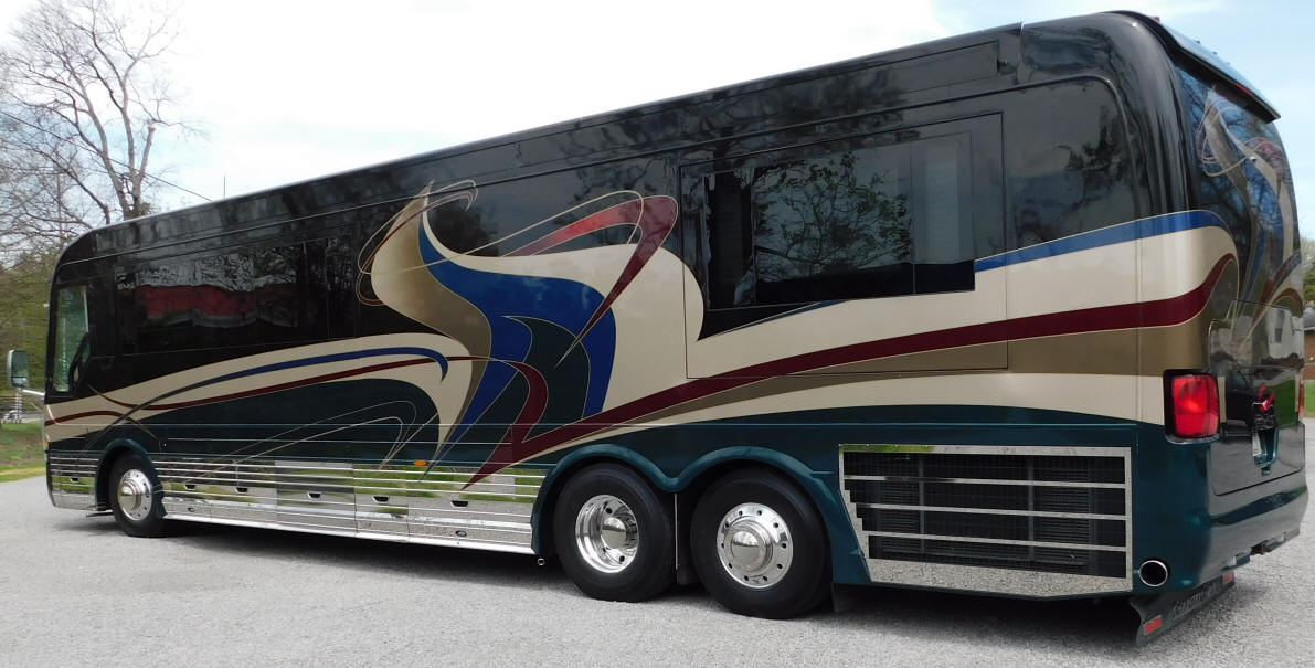 2003 42 Ft. Country Coach Lexa Motorhome # 49251 For Sale at Staley Bus Sales / Staley Coach in Nashville, Tennessee.