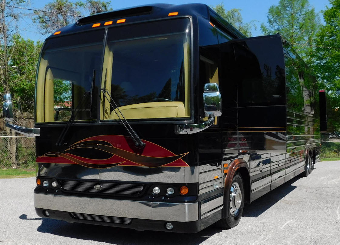 2007 Prevost XLII Double Slide Marathon Motorhome # 49216 For Sale at Staley Coach in Nashville, Tennessee