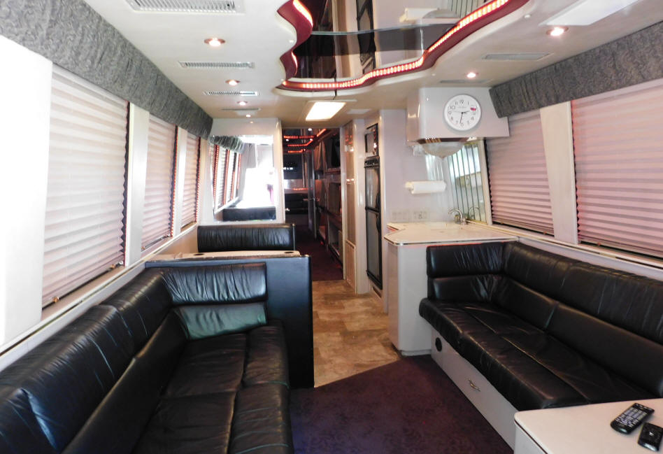 1996 Prevost LeMirage XL Entertainer Bus # 49256 For Sale at Staley Bus Sales in Nashville, Tennessee.