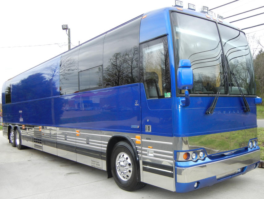 06 Prevost Entertainer Bus #49252 For Sale at Staley Bus Sales in Nashville, Tennessee.