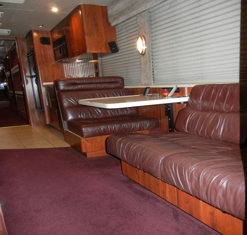 2002 Prevost XLII Entertainer Bus # 49196 For Sale at Staley Bus Sales, Nashville, Tennessee
