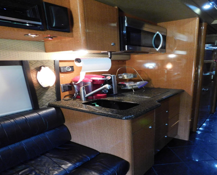 2007 Prevost XLII Entertainer Bus # 49287 For Sale at Staley Bus Sales, Nashville, TN.