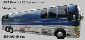 1997 Prevost XL Entertainer Bus # 49306