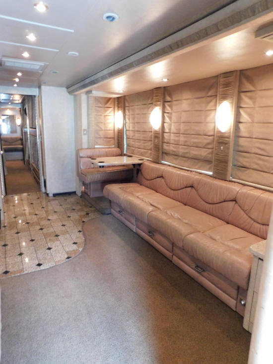 2005 Prevost XLII Front Slide Entertainer Bus # 49312 For Sale at Staley Bus Sales, Nashville, Tennessee.
