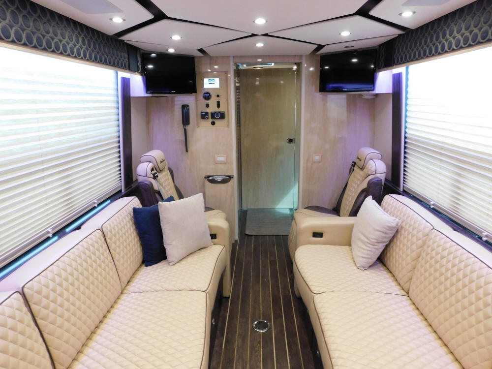 2019 H3-45 Prevost Custom Coach Executive / VIP Coach # 49350 For Sale at Staley Bus Sales / Staley Coach in Nashville, Tennessee.