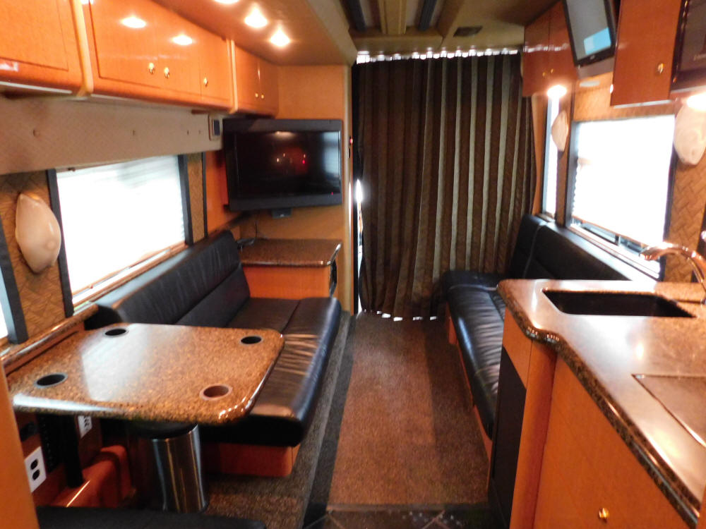 2007 Prevost XLII Front Slide Entertainer Bus For Sale at Staley Bus Sales / Staley Coach in Nashville, Tennessee.