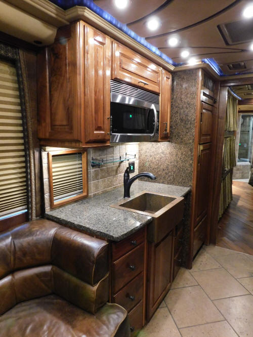 2008 Prevost XLII Front Slide Star Coach / Motorhome # 49363 that is For Sale at Staley Bus Sales / Staley Coach in Nashville, Tennessee.