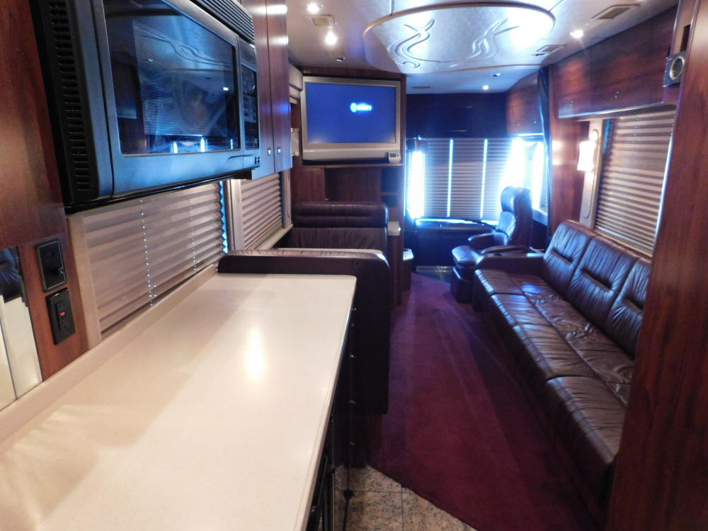 2003 Prevost XLII Star Bus / Motorhome # 49357 For Sale at Staley Bus Sales / Staley Coach in Nashville, Tennessee