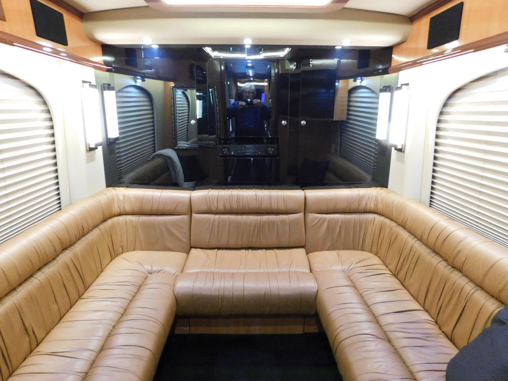 2004 Prevost H3-45 Entertainer Bus # 44824 that is For Sale at Staley Bus Sales in Nashville, Tennessee.