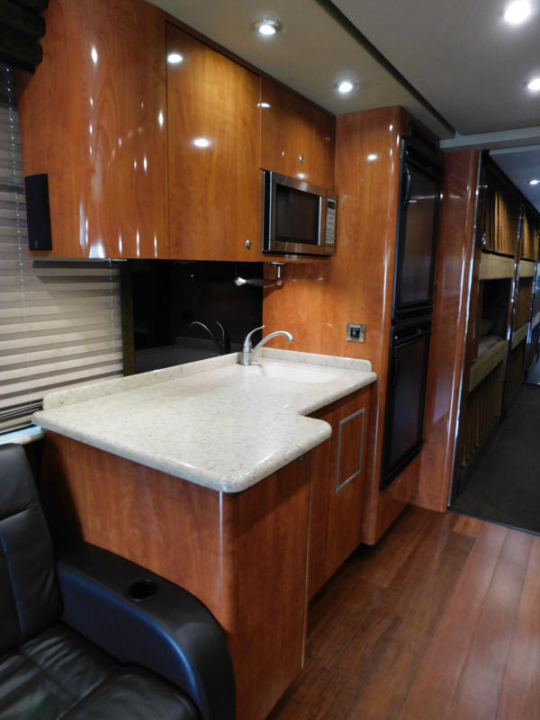 2009 Prevost XLII Front Slide Entertainer Bus # 49380 For Sale at Staley Bus Sales, Nashville, Tennessee.
