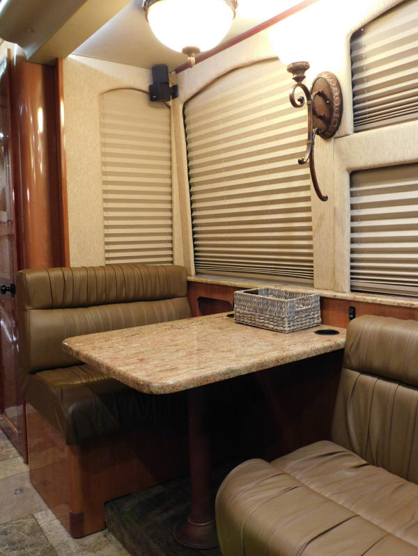 49264  2014 Prevost XLII Entertainer Bus, Front Slide For Sale at Staley Bus Sales, Nashville, Tennessee.