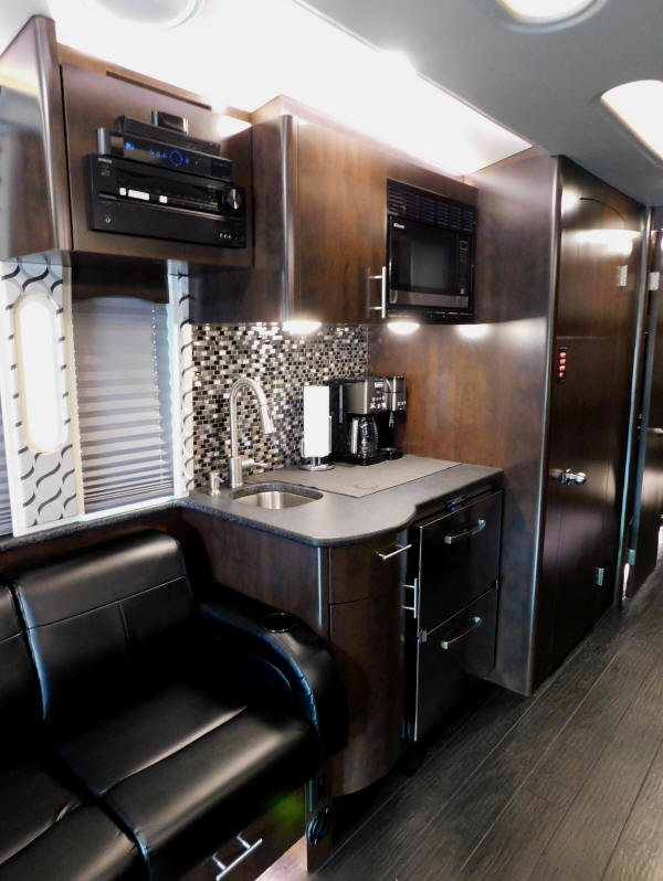 2017 X3-45 Prevost Entertainer Bus that is For Sale at Staley Bus Sales / Staley Coach in Nashville, Tennessee.
