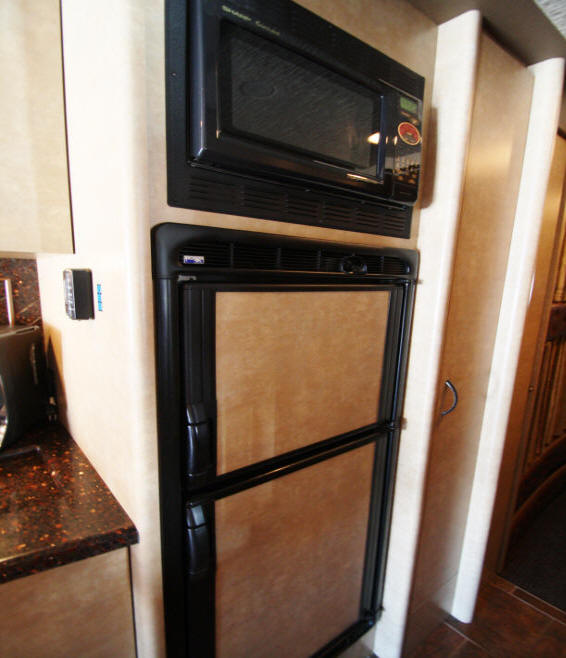 galley on 2009 prevost bus for sale