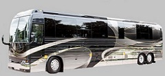 prevost star entertainer motorhome bus by florida coach