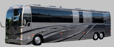 2019 X3-45 Prevost Star Coach / Motorhome # 46311 For Sale at Staley Coach in Nashville, Tennessee.