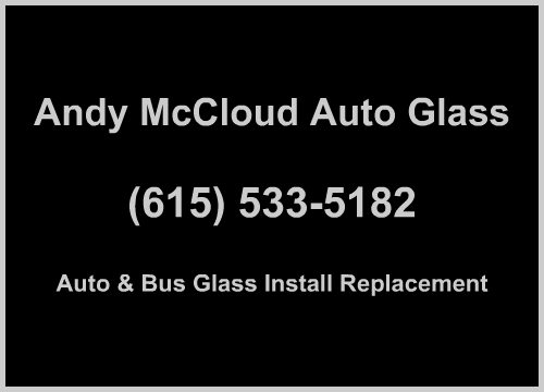 andy mccloud auto glass ad