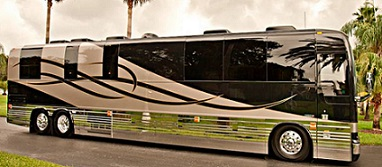 2012 Florida Coach X3-45 Entertainer Bus # 44840